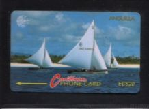 Phonecard Anguilla Telephone card #269